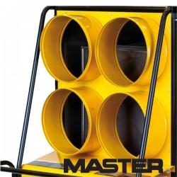 Panel wylotowy czterodrożny do nagrzewnicy olejowej Master Bv470 4 x 270 mm