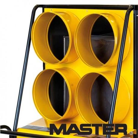 Panel wylotowy czterodrożny do nagrzewnicy olejowej Master